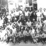 Operai del Gruppo Corazza negli anni '60